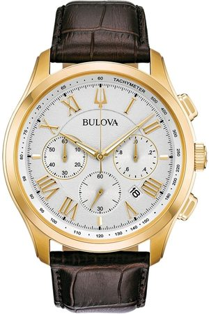 BULOVA Reloj analógico 97B169, Quartz, 46mm, 3ATM para hombre