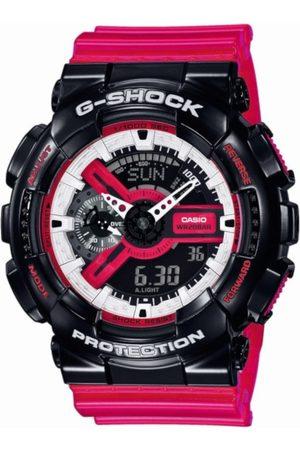 Casio Reloj digital GA-110RB-1AER, Quartz, 51mm, 20ATM para hombre