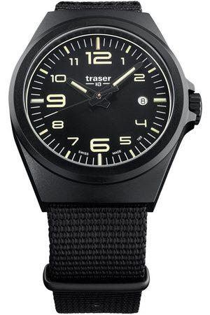 Traser H3 Reloj analógico 108218, Quartz, 42mm, 10ATM para hombre