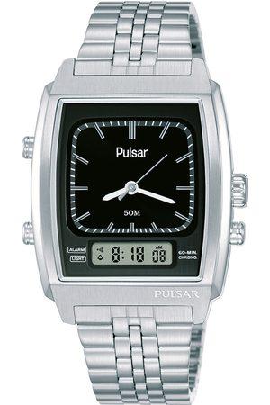 Pulsar Reloj analógico PBK035X2, Quartz, 33mm, 10ATM para hombre