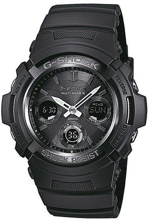 Casio Reloj digital AWG-M100B-1AER, Quartz, 46mm, 20ATM para hombre