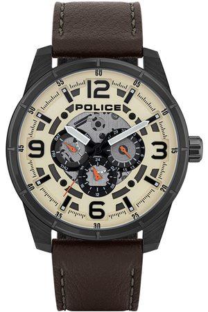 Police Reloj analógico PL15663JSU.14, Quartz, 48mm, 3ATM para hombre