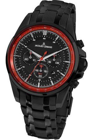 Jacques Lemans Reloj analógico 1-1799X, Quartz, 44mm, 10ATM para hombre