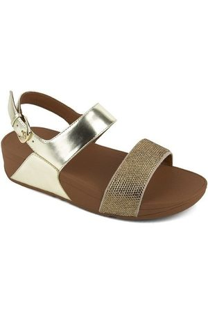 FitFlop Sandalias CRYSTALL TM II BACK-STRAP SANDALS - GOLD para mujer
