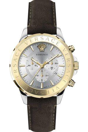 VERSACE Reloj analógico VEV600219, Quartz, 44mm, 5ATM para hombre
