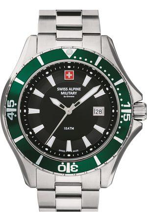 Swiss Alpine Military Reloj analógico 7040.1134, Quartz, 45mm, 10ATM para hombre