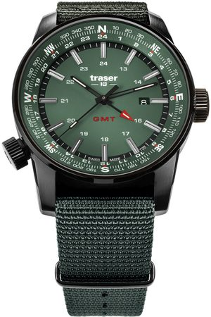 Traser H3 Reloj analógico 109035, Quartz, 46mm, 10ATM para hombre