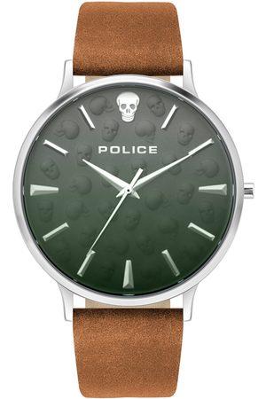 Police Reloj analógico PL16023JS.13, Quartz, 42mm, 5ATM para hombre