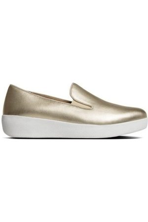 FitFlop Mocasines SUPERSKATE TM - GOLD IRIDESCENT para mujer