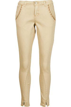 Cream Pantalón HOLLY TWILL PANT para mujer