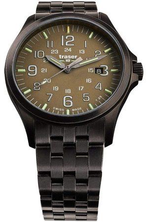 Traser H3 Reloj analógico 108738, Quartz, 42mm, 10ATM para hombre