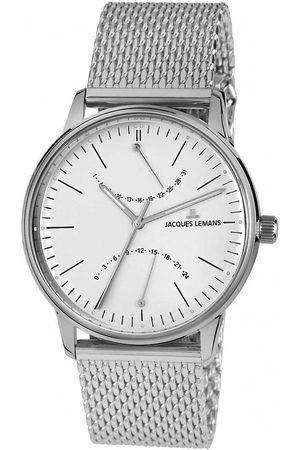 Jacques Lemans Reloj analógico N-218F, Quartz, 40mm, 5ATM para hombre