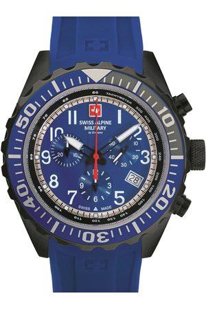Swiss Alpine Military Reloj analógico 7076.9875, Quartz, 44mm, 10ATM para hombre