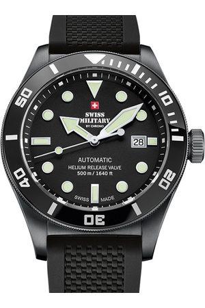 CHRONO Reloj analógico SMA34075.05, Automatic, 44mm, 50ATM para hombre