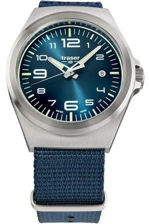 Traser H3 Reloj analógico 108216, Quartz, 42mm, 10ATM para hombre