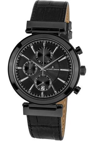 Jacques Lemans Reloj analógico 1-1699C, Quartz, 45mm, 5ATM para hombre