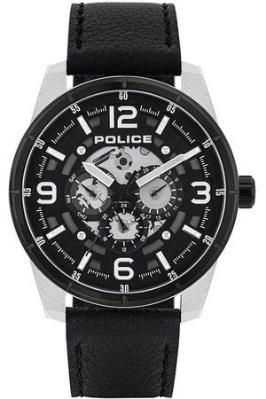 Police Reloj analógico PL15663JSTB.02, Quartz, 48mm, 3ATM para hombre