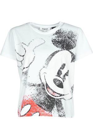 Desigual Camiseta OK MICKEY para mujer