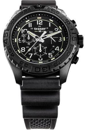Traser H3 Reloj analógico 108679, Quartz, 44mm, 20ATM para hombre