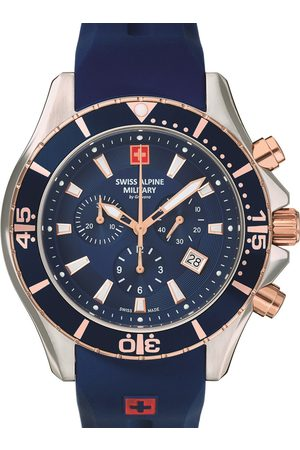 Swiss Alpine Military Reloj analógico 7040.9855, Quartz, 45mm, 10ATM para hombre