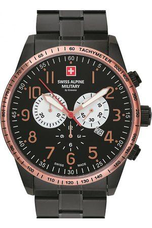 Swiss Alpine Military Reloj analógico 7082.9187, Quartz, 45mm, 10ATM para hombre