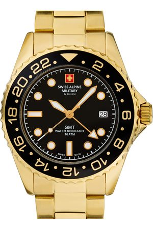 Swiss Alpine Military Reloj analógico 7052.1117, Quartz, 42mm, 10ATM para hombre