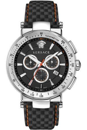 VERSACE Reloj analógico VFG040013, Quartz, 43mm, 5ATM para hombre