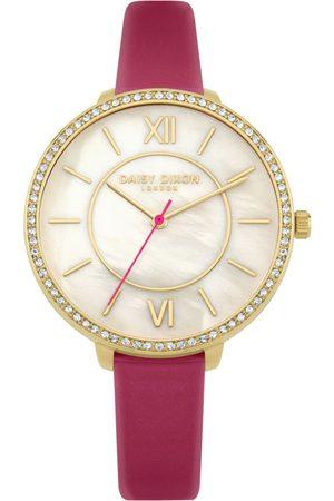 Daisy Dixon Mujer Relojes - Reloj analógico DD088PG, Quartz, 36mm, 3ATM para mujer