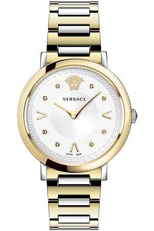 VERSACE Reloj analógico VEVD00519, Quartz, 36mm, 5ATM para mujer
