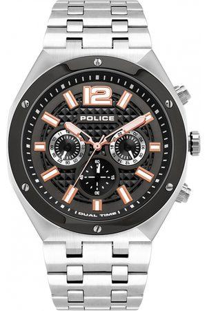 Police Reloj analógico PL15995JSTU.61M, Quartz, 46mm, 5ATM para hombre