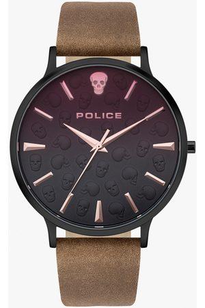Police Reloj analógico PL16023JSB.02, Quartz, 42mm, 3ATM para hombre