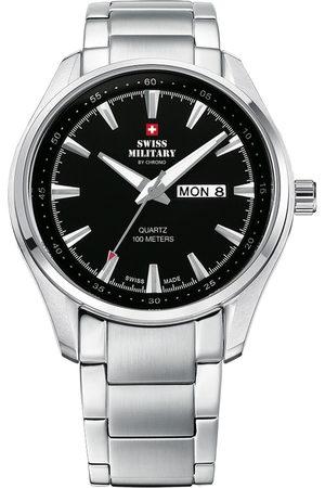 CHRONO Reloj analógico SM34027.01, Quartz, 44mm, 10ATM para hombre