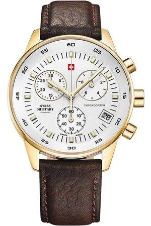 CHRONO Reloj analógico SM30052.05, Quartz, 40mm, 5ATM para hombre