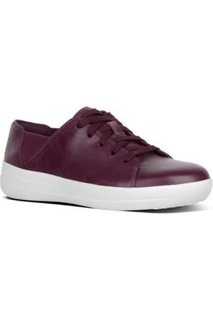 FitFlop Zapatillas F-SPORTY TM LACE UP SNEAKER LEATHER - DEEP PLUM para mujer