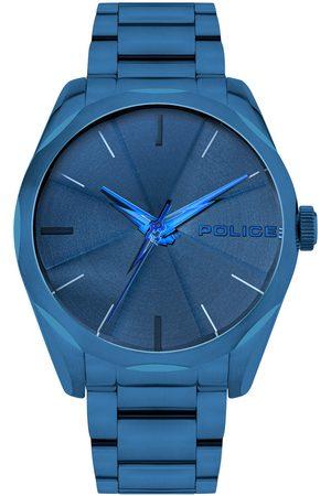 Police Reloj analógico PL15712JSBL.03M, Quartz, 44mm, 3ATM para hombre