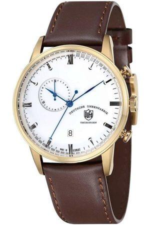 DUFA Reloj analógico DF-9007-04, Quartz, 41mm, 3ATM para hombre