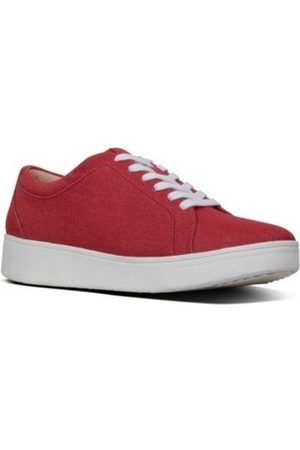 FitFlop Zapatillas RALLY DENIM - SNEAKERS ADRENALINE RED para mujer