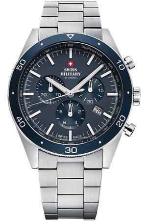 CHRONO Reloj analógico SM34079.02, Quartz, 43mm, 10ATM para hombre