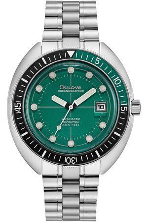 BULOVA Reloj analógico 96B322, Quartz, 44mm, 20ATM para hombre