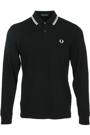 Fred Perry Polo LS Twin Tipped Shirt para hombre