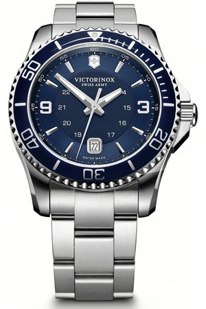Victorinox Reloj analógico 241602, Quartz, 43mm, 10ATM para hombre