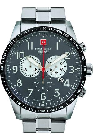 Swiss Alpine Military Reloj analógico 7082.9138, Quartz, 45mm, 10ATM para hombre