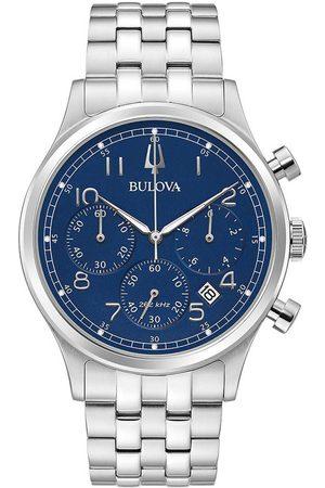 BULOVA Reloj analógico 96B358, Quartz, 43mm, 3ATM para hombre