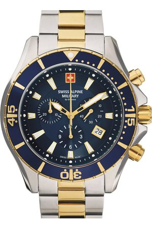 Swiss Alpine Military Reloj analógico 7040.9145, Quartz, 46mm, 10ATM para hombre