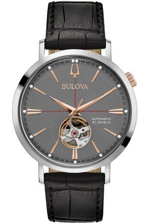 BULOVA Reloj analógico 98A187, Automatic, 42mm, 3ATM para hombre