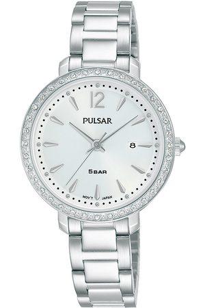 Pulsar Reloj analógico PH7511X1, Quartz, 30mm, 5ATM para mujer
