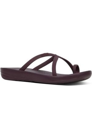 FitFlop Chanclas iQUSION WAVE - SLIDES - WILD AUBERGINE es para mujer