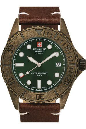 Swiss Alpine Military Reloj analógico 7051.1584, Quartz, 41mm, 10ATM para hombre