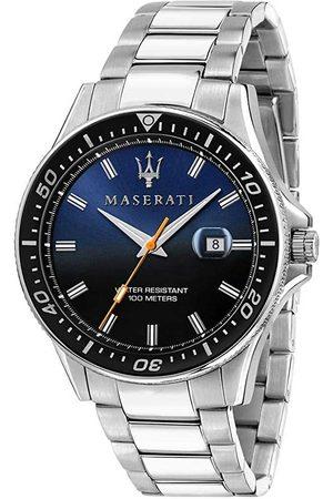 Maserati Reloj analógico R8853140001, Quartz, 44mm, 10ATM para hombre
