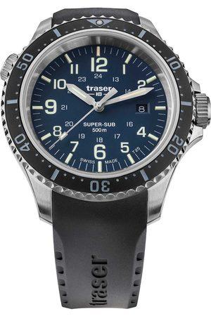 Traser H3 Reloj analógico 109373, Quartz, 46mm, 50ATM para hombre